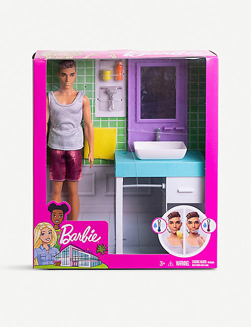 BARBIE Ken shaving fun set 30.4cm