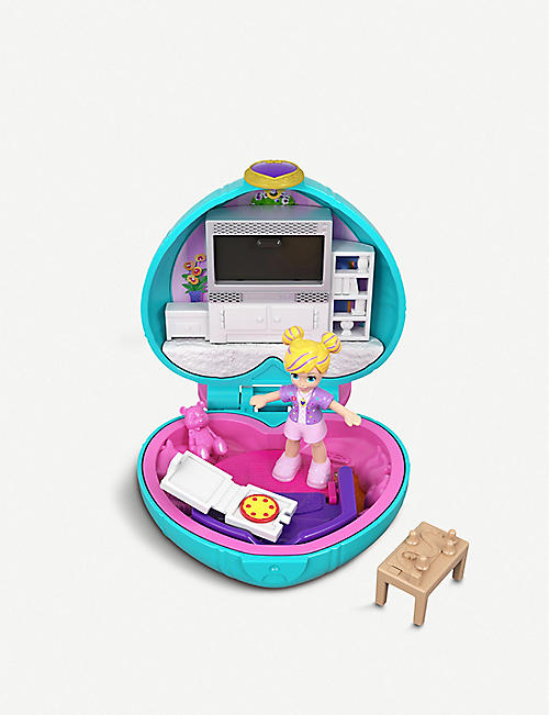 POLLY POCKET Tiny Pocket Places Polly's Living Room micro playset