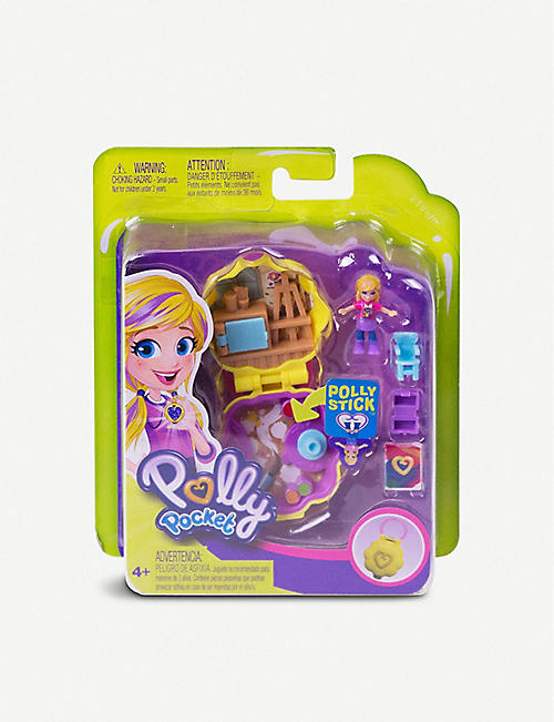 POLLY POCKET Tiny Pocket Places Awesome Art Studio playset