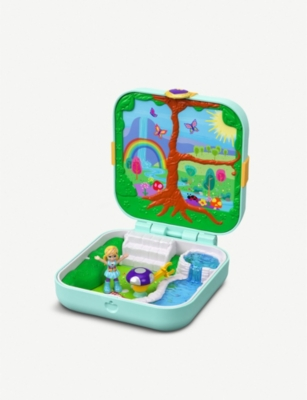 POLLY POCKET Tiny Pocket Places micro enchanted forest playset