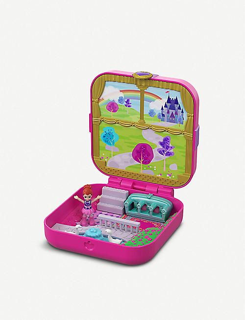 POLLY POCKET Hidden Hideouts Lila's Dream Castle micro playset
