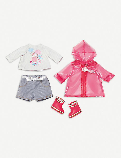 BABY ANNABELL Deluxe puddle outfit