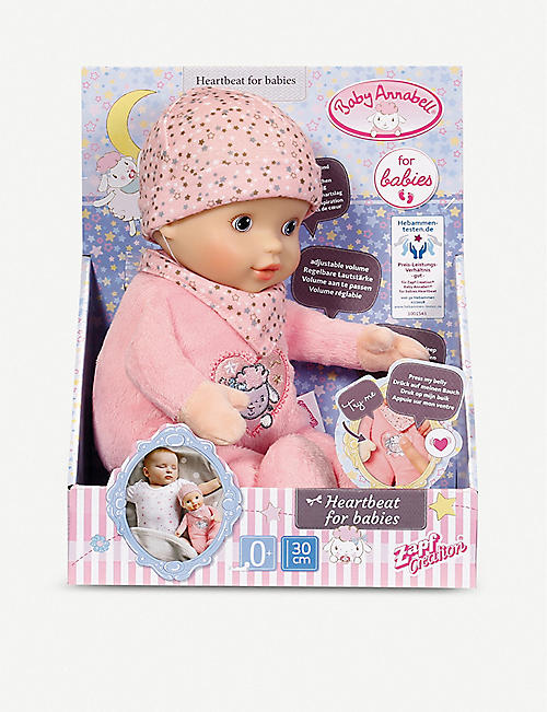 BABY ANNABELL Heartbeat for Babies doll 30cm