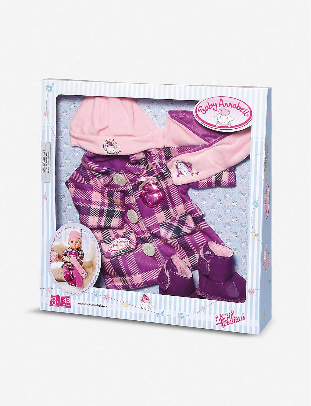 BABY ANNABELL - Deluxe coat set | Selfridges.com