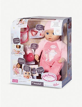 BABY ANNABELL: Annabell interactive doll 43cm
