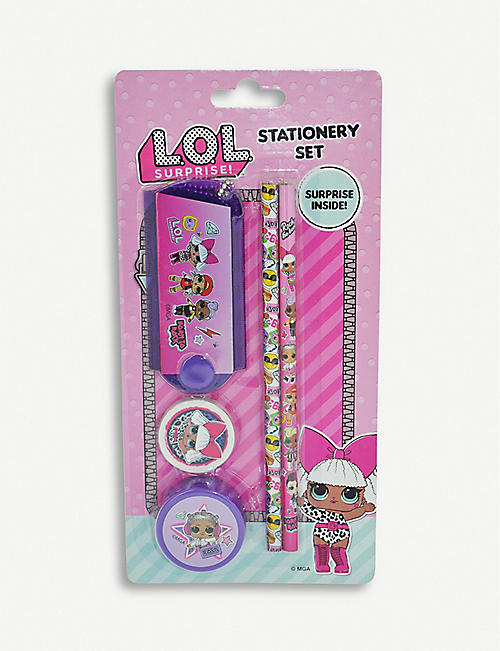 L.O.L. SURPRISE Stationery set