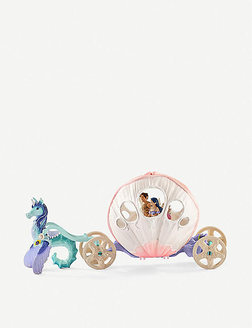 SCHLEICH Bayala royal seashell carriage set