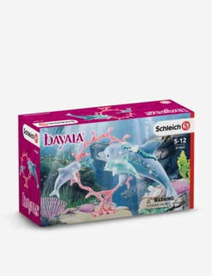 SCHLEICH Bayala family of dolphins set