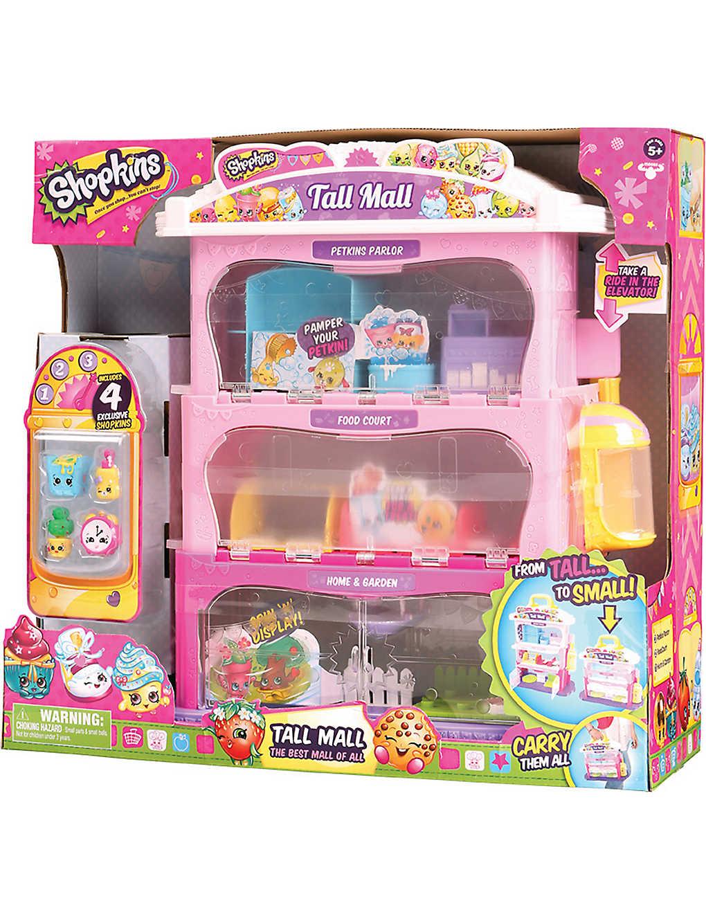 Spielzeug Shopkins Tall Mall Playset Triadecont Com Br