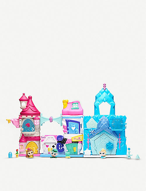 DISNEY PRINCESS Doorables Stack and Build playsets