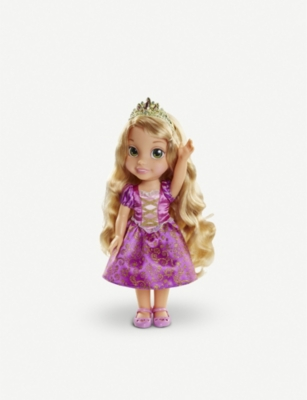 DISNEY PRINCESS Basic Toddler Rapunzel doll 38cm