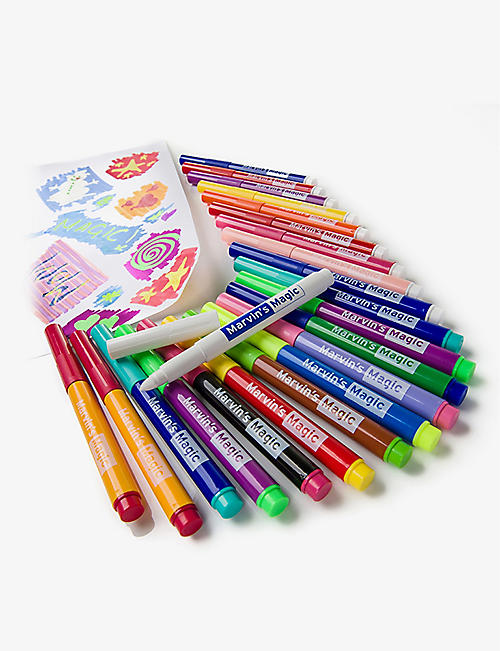 MARVINS MAGIC Malzauber magic pens – pack of 25