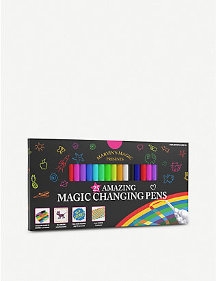 MARVINS MAGIC: Malzauber magic pens – pack of 25
