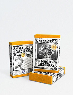 MARVINS MAGIC The Magic of Card Tricks playing cards