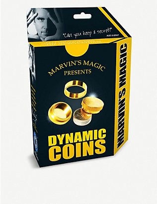 MARVINS MAGIC: Dynamic Coins magic trick set