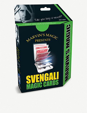 MARVINS MAGIC Svengali Magic Cards set