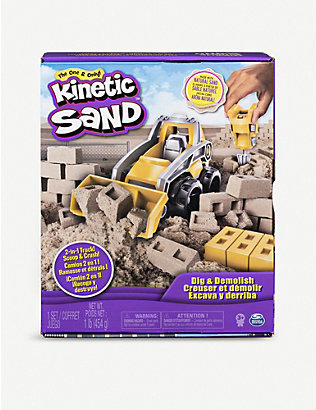 KINETIC SAND: Dig and Demolish Truck playset