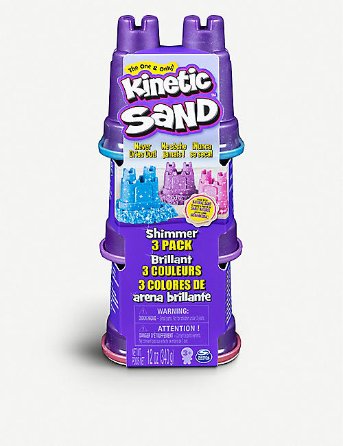 KINETIC SAND Shimmering Sand Multi-Pack