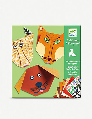 DJECO: Animals introduction to origami set