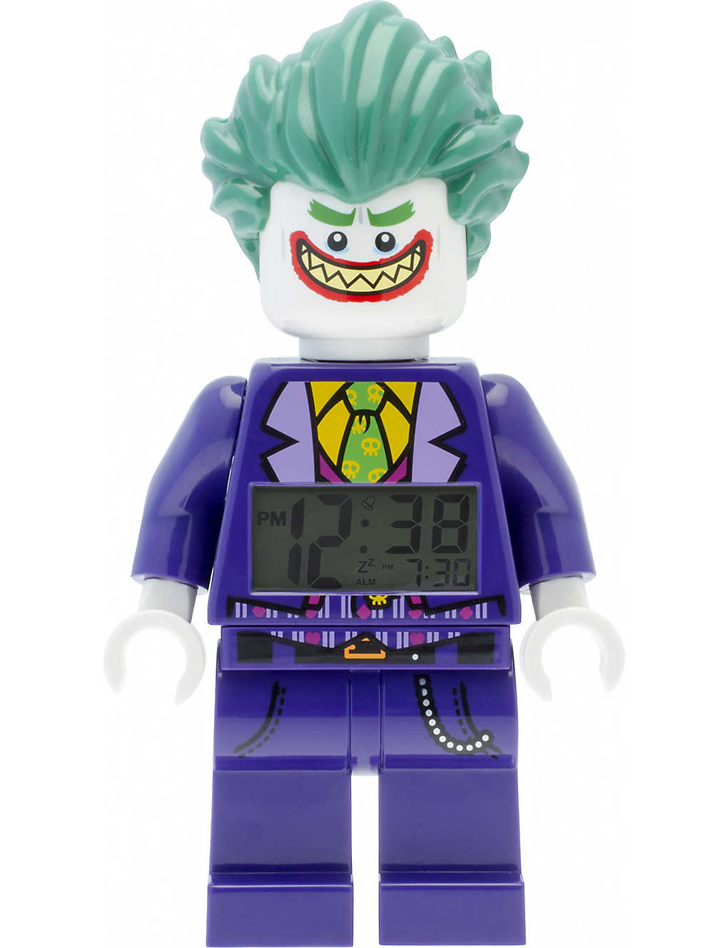 Lego Batman Movie Joker Alarm Clock Selfridges Com