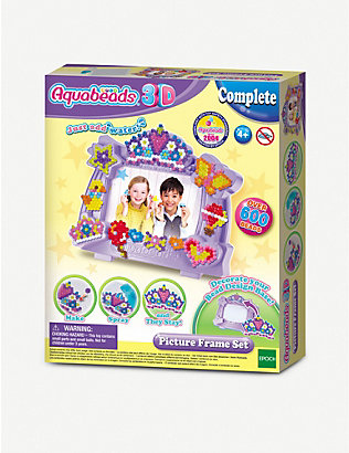 AQUABEADS: 3D picture frame bead kit