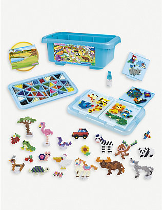 AQUABEADS: Box of Fun Safari bead kit