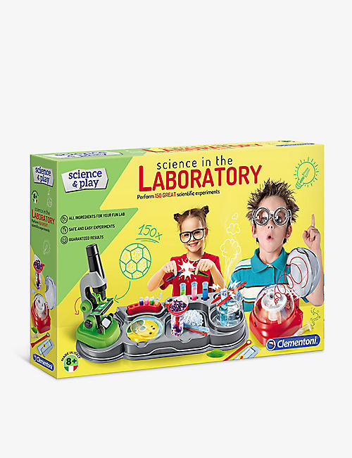 SCIENCE & PLAY: Science laboratory set