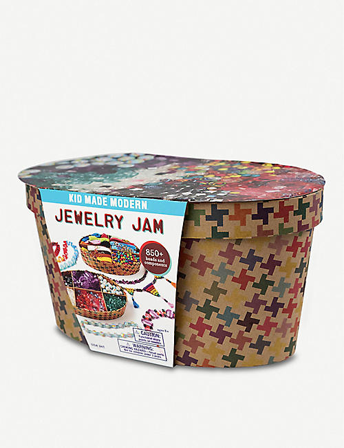 KID MADE MODERN: Jewellery Jam craft kit