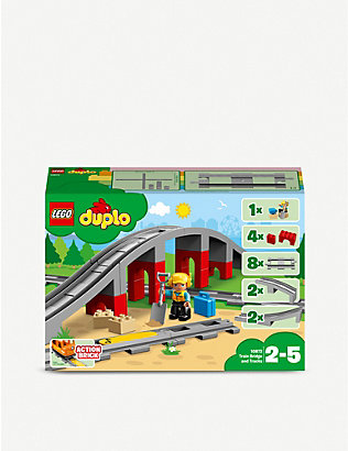 LEGO: DUPLO® Town train, bridge and tracks set