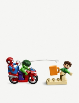 LEGO Spiderman, Hulk & Sandman playset