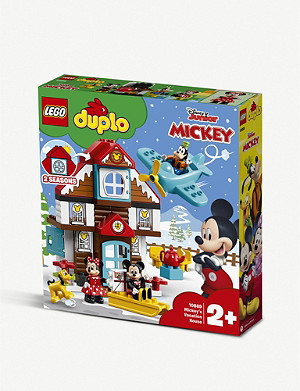 LEGO DUPLO Mickey's Vacation House set