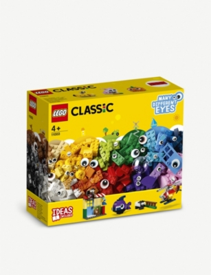 LEGO Classic Brick and Eyes set