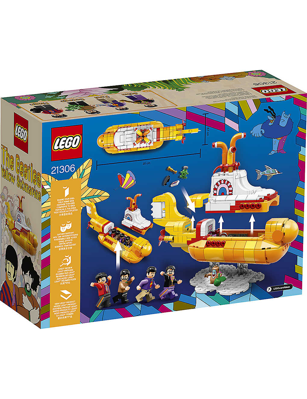 The new Beatles Yellow Submarine LEGO