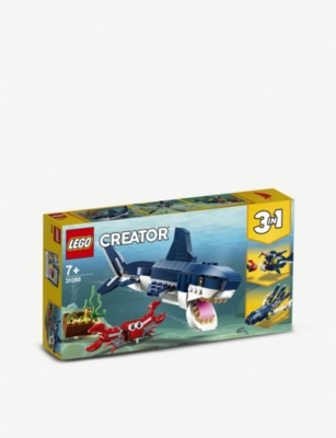 LEGO Deep Sea Creatures 3-in-1 playset