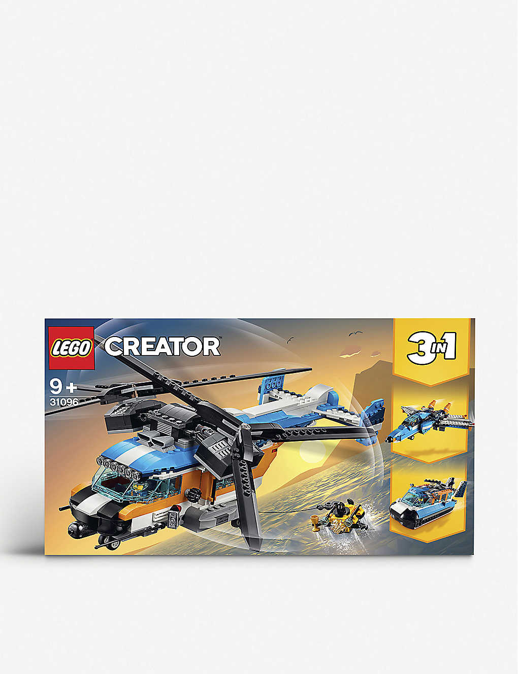 LEGO: LEGO? Creator 3-in-1 Twin Rotor Helicopter set