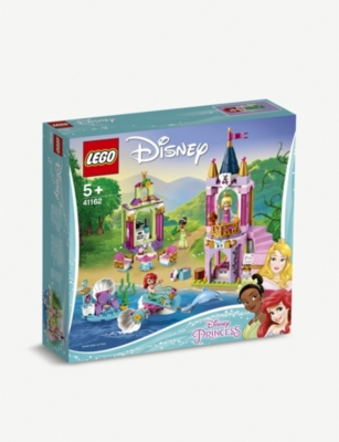 LEGO Disney Ariel, Aurora, and Tiana's Royal Celebration set