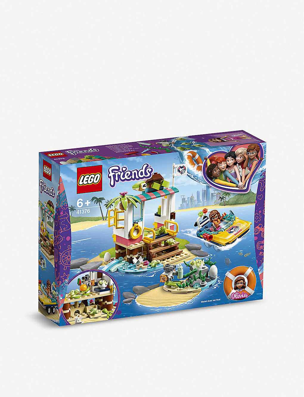 LEGO: Friends Turtles Rescue Mission set