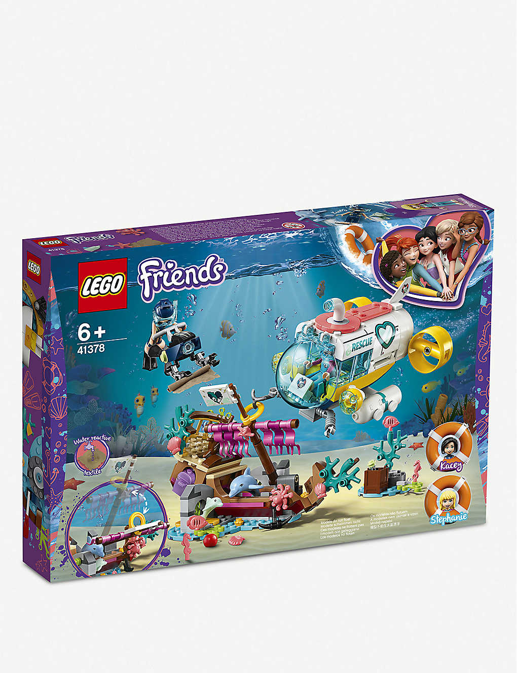 LEGO: Friends Dolphin Rescue mission set