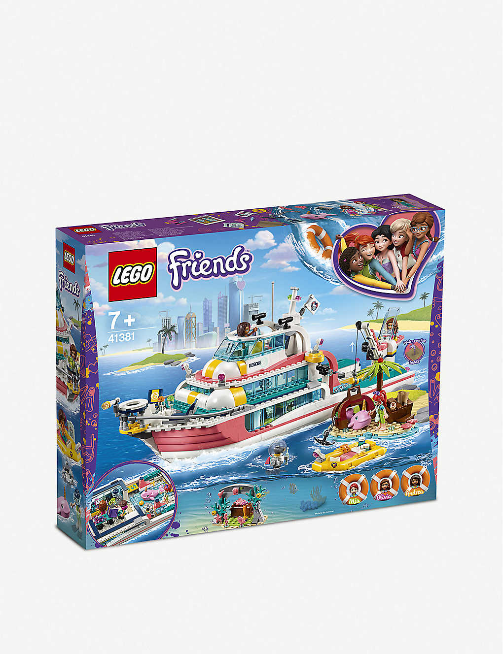 LEGO: Friends Rescue Mission Boat