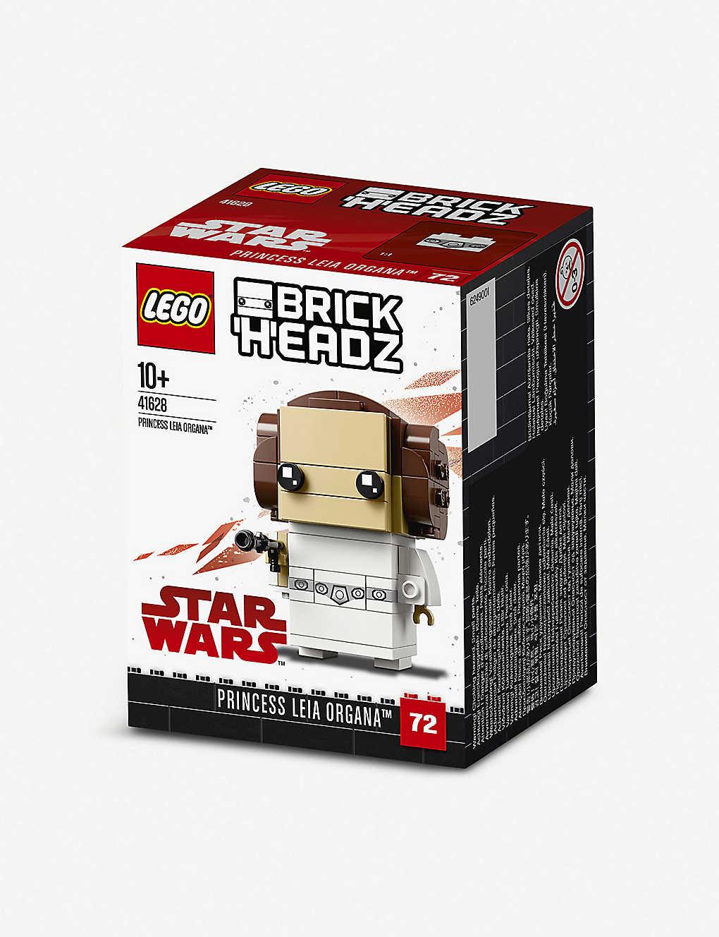 Lego Brickheadz Star Wars Princess Leia Building Toy Selfridgescom