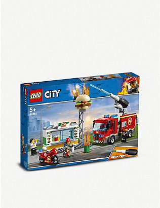 LEGO: LEGO® City Burger Bar Fire Rescue set