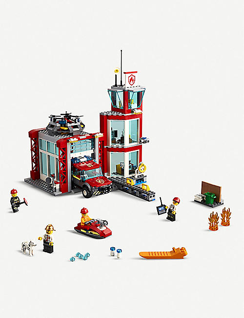 LEGO City Fire Station set