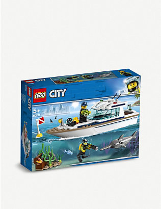 LEGO: LEGO® City Diving Yacht set