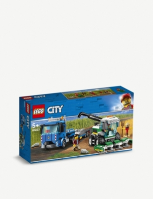 LEGO City Harvester Transport set