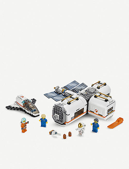 LEGO City Lunar Space Station set