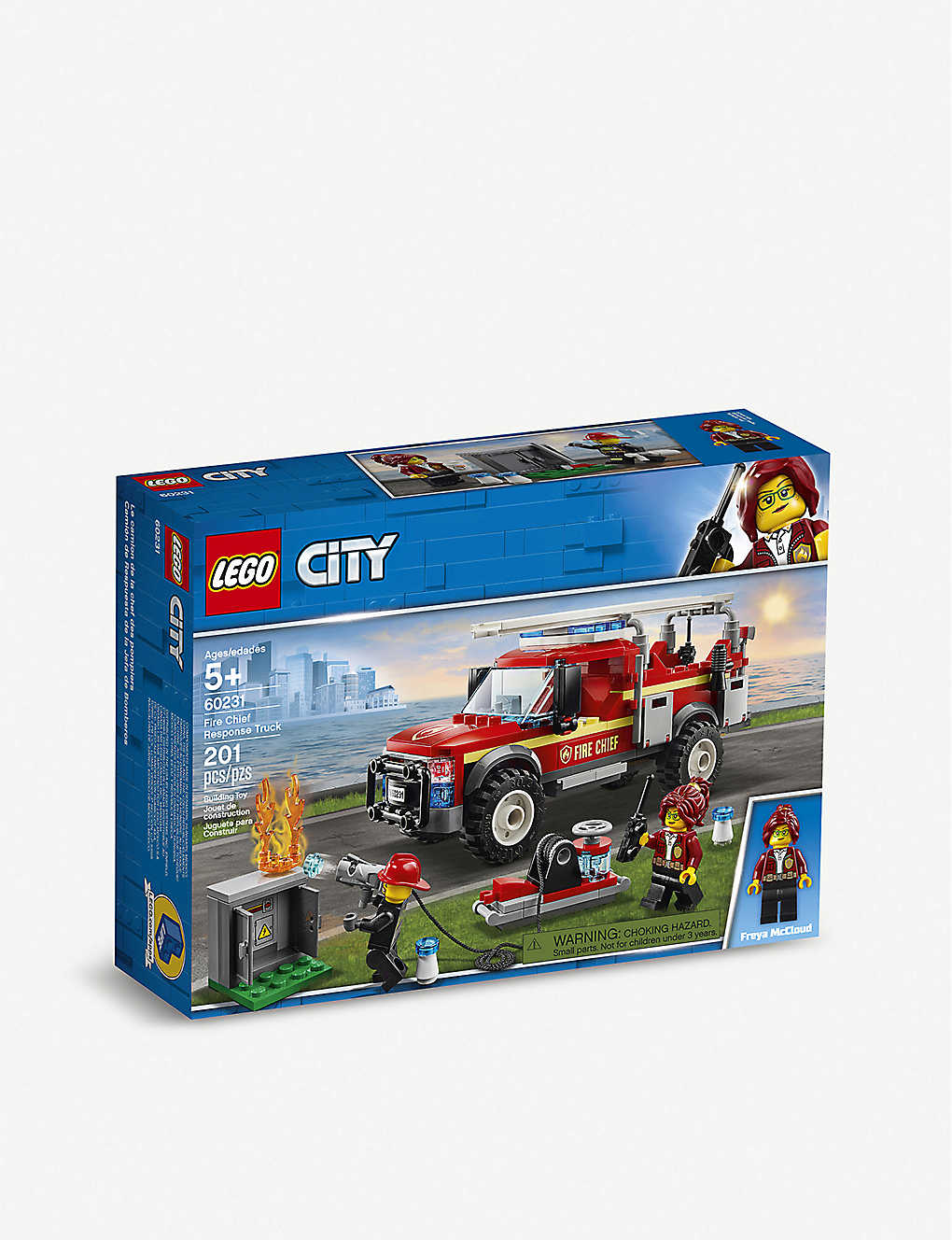 LEGO: LEGO® City Fire Chief Response Truck set