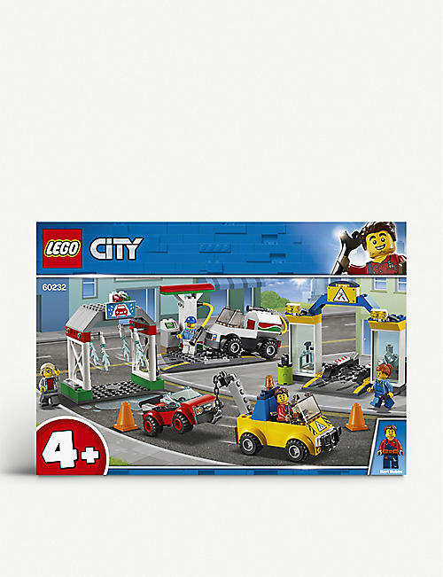 LEGO City Petrol Station set