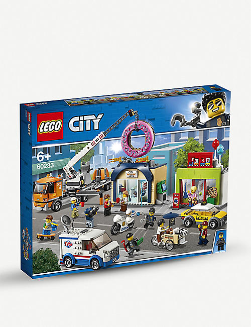 LEGO City Donut Shop Opening set