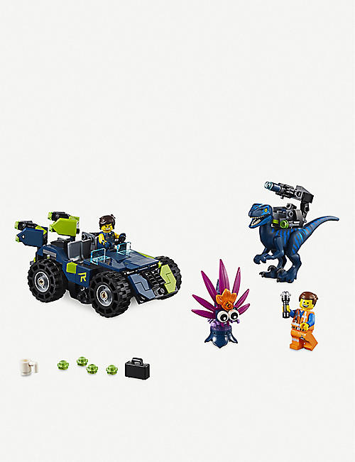 LEGO The Lego Movie 2 Rex's Rex-treme Offroader play set