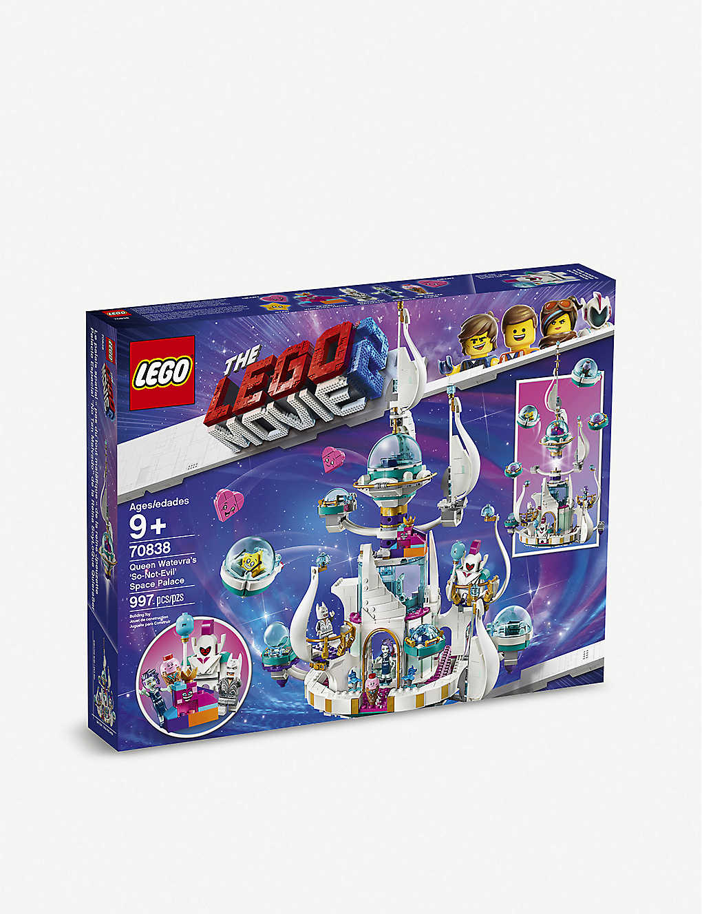 LEGO: LEGO® Queen Watevra's 'So-Not-Evil' Space Palace set